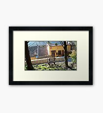 Have a good vacation ! Framed Print