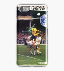 Microprose Football French 8 bit! iPhone Case/Skin