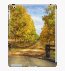 Country Roads Take Me Home - Uralla NSW - The HDR Experience iPad Case/Skin