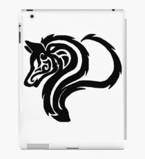 Simplistic Tribal Wolf  iPad Case/Skin