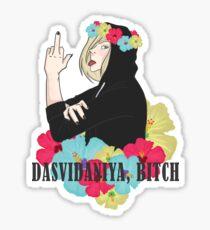 Dasvidaniya, Bitch   Sticker