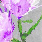 Purple Wildflower by Suz! Designs