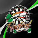 Radical Darts Shirt by mydartshirts