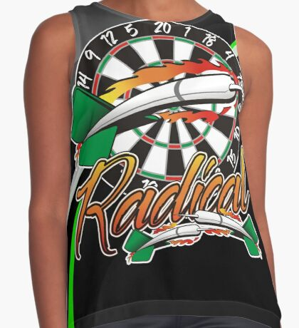 Radical Darts Shirt Contrast Tank