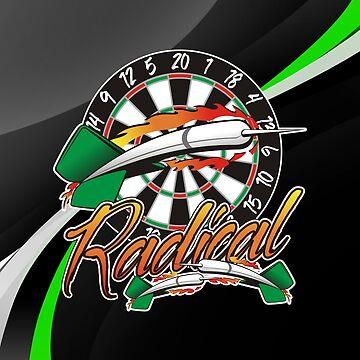 Radical Darts Shirt by mydartshirts
