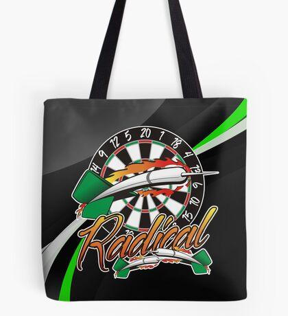 Radical Darts Shirt Tote Bag