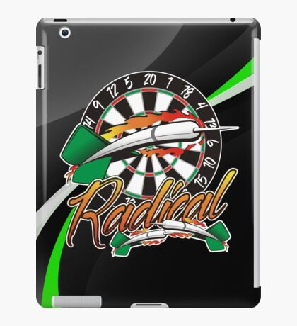 Radical Darts Shirt iPad Case/Skin