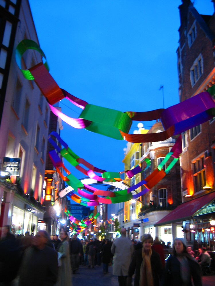 Carnaby at Christmas by Fernie
