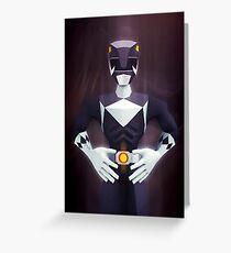 Black Ranger Greeting Card