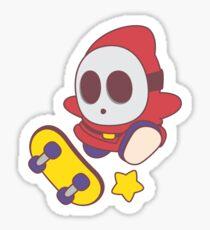 MARIO SKATE - Shyguy Sticker