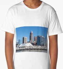 Cleveland Ohio Downtown Long T-Shirt