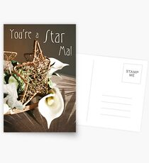 Mother's Day Card Postcards