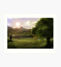 Link's Journey Art Print