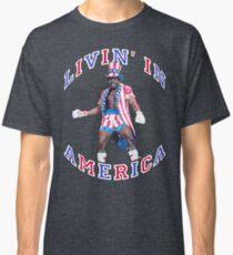 Apollo Creed - Livin' in America Classic T-Shirt