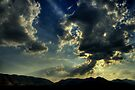 Evening sky by Prasad