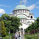 Temple of Saint Sava in Belgrade by Ana Belaj