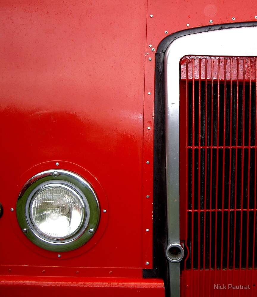 Fire engine by Nick Pautrat
