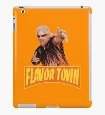 FLAVOR TOWN USA - GUY FlERl iPad Case/Skin