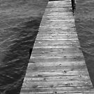 Old Dock 10 BW by marybedy