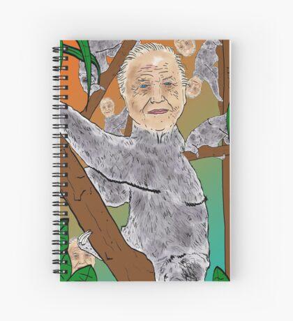 Planet Sir Sloth  Spiral Notebook