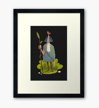 Woodsman Framed Print
