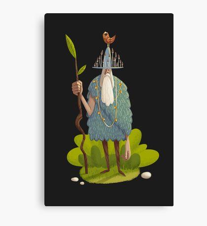 Woodsman Canvas Print
