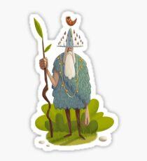 Woodsman Sticker