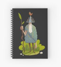 Woodsman Spiral Notebook