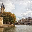 La Seine in Autumn - Paris by Yannik Hay
