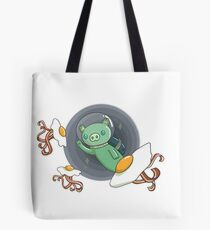 Couik the space-pig Tote Bag