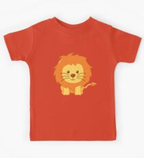 Cute Lion for Kids Kids Tee
