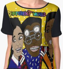 It's A Different World Chiffon Top