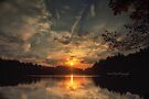 Sunrise Lake Pink by Yannik Hay