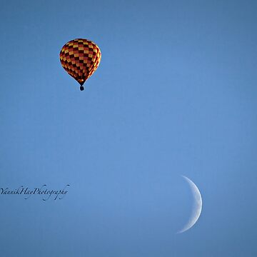 Fly Me To The Moon  - Hot Air Balloon by Photograph2u