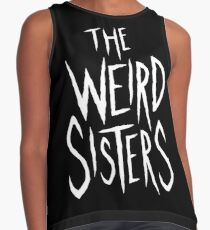 The Weird Sisters - White Contrast Tank