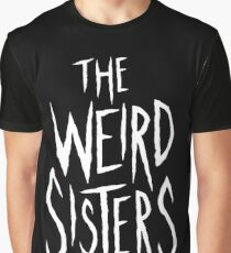 The Weird Sisters - White Graphic T-Shirt