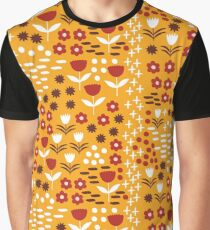 Yellow flowers field Graphic T-Shirt