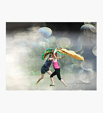 Dancing in the Park Photographic Print