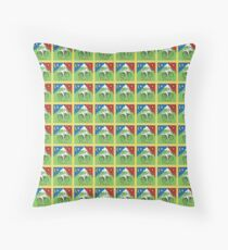 LSD Bicycle Day Throw Pillow