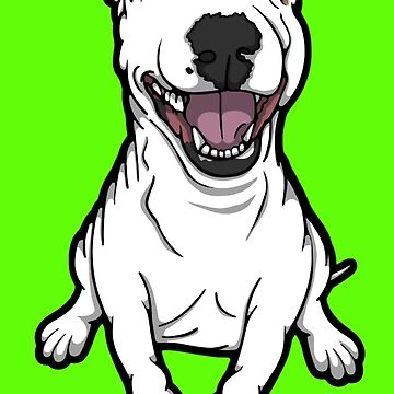 Happy Luna English Bull Terrier by Sookiesooker