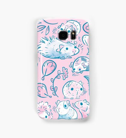 Guinea Pig Huddle In Pink Samsung Galaxy Case/Skin