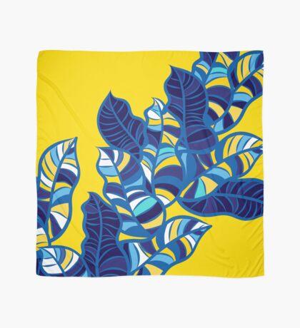 Pop foliage on Yellow Scarf
