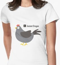 Ancient  Dragon vol. 2 Womens Fitted T-Shirt