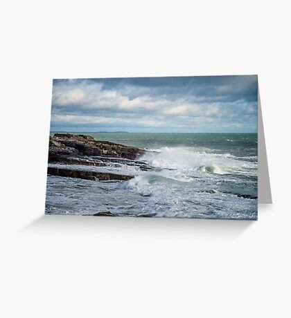 Coast off the Hook Lighthouse Greeting Card