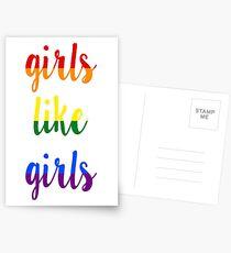 Girls Like Girls Postcards