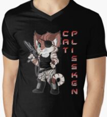 Cat Plissken Men's V-Neck T-Shirt