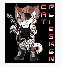 Cat Plissken Photographic Print