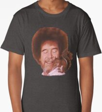 Bob Ross Loves All God's Creatures Long T-Shirt