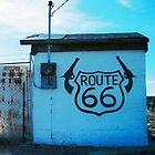 RT.66 ...TWO GUNS by WhiteDove Studio kj gordon
