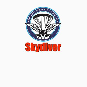 Skydiver T-Shirt #1 by nspc